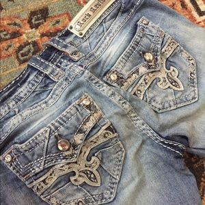 Size 27 Barbila Rock Revival Jeans